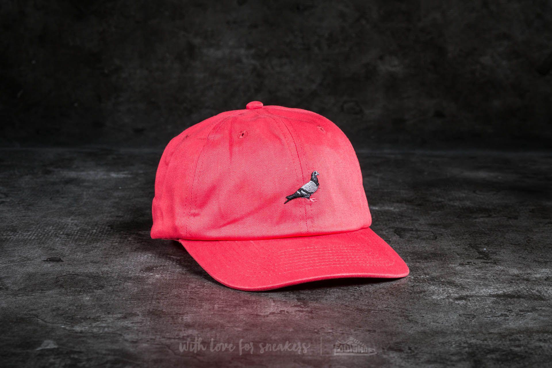 95ef104caebb2 Lyst - Footshop Staple Pigeon Script Cap Lava in Pink for Men