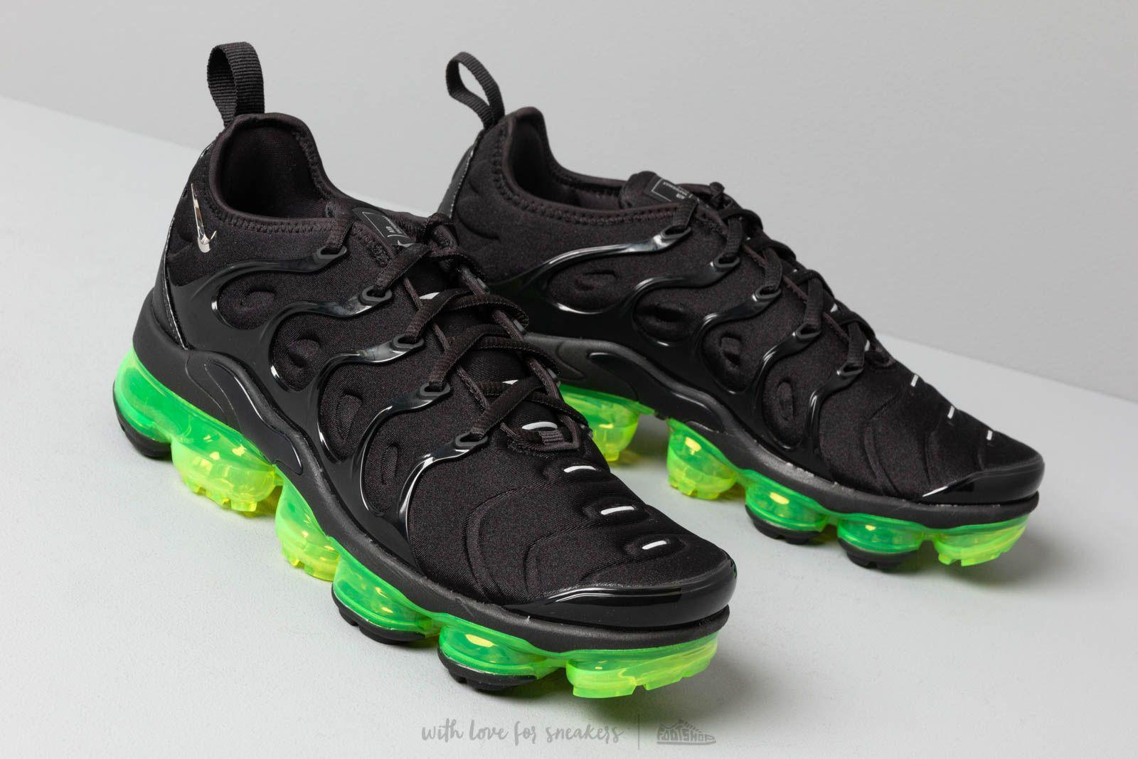 new style a9e77 b6b18 Lyst - Nike Air Vapormax Plus Black  Reflect Silver-volt for Men