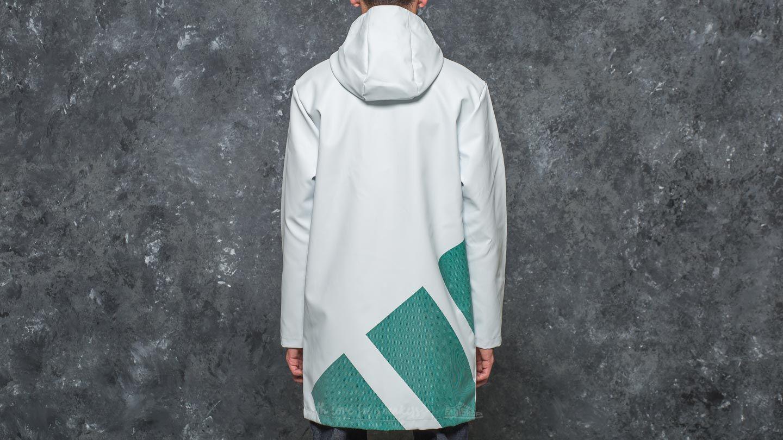 Lyst Adidas Originals Adidas Equipment Rain Jacket White In White