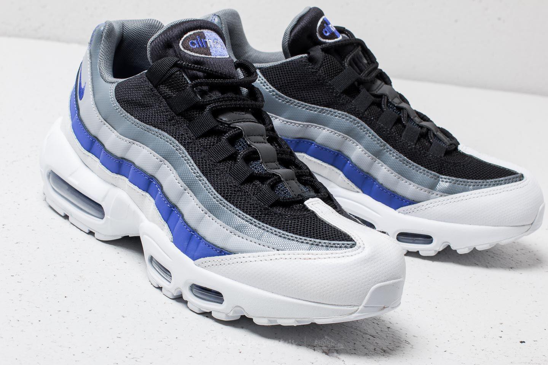 2881f870017940 Nike - Gray Air Max 95 Essential White  Persian Violet-cool Grey for Men.  View fullscreen