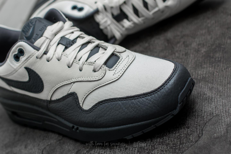 0a7eaea6e4 Nike Air Max 1 Premium Sail/ Dark Obsidian-dark Grey in Gray for Men ...