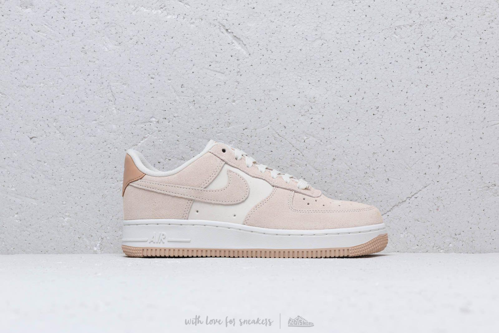 Nike Suede Wmns Air Force 1 '07 Prm Pale Ivory Pale Ivory