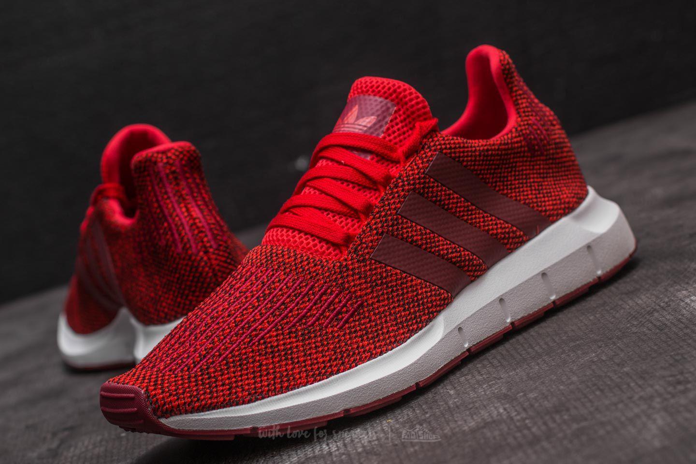 Lyst - adidas Originals Adidas Swift Run Red  Collegiate Burgundy ... 37ee93dd0
