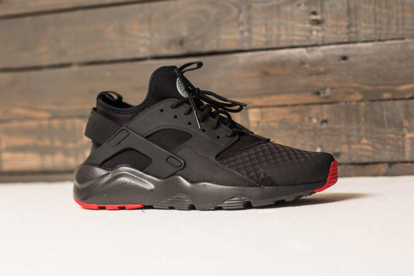 e8c526ac388f Lyst - Nike Air Huarache Run Ultra Black  Metallic Silver in ...