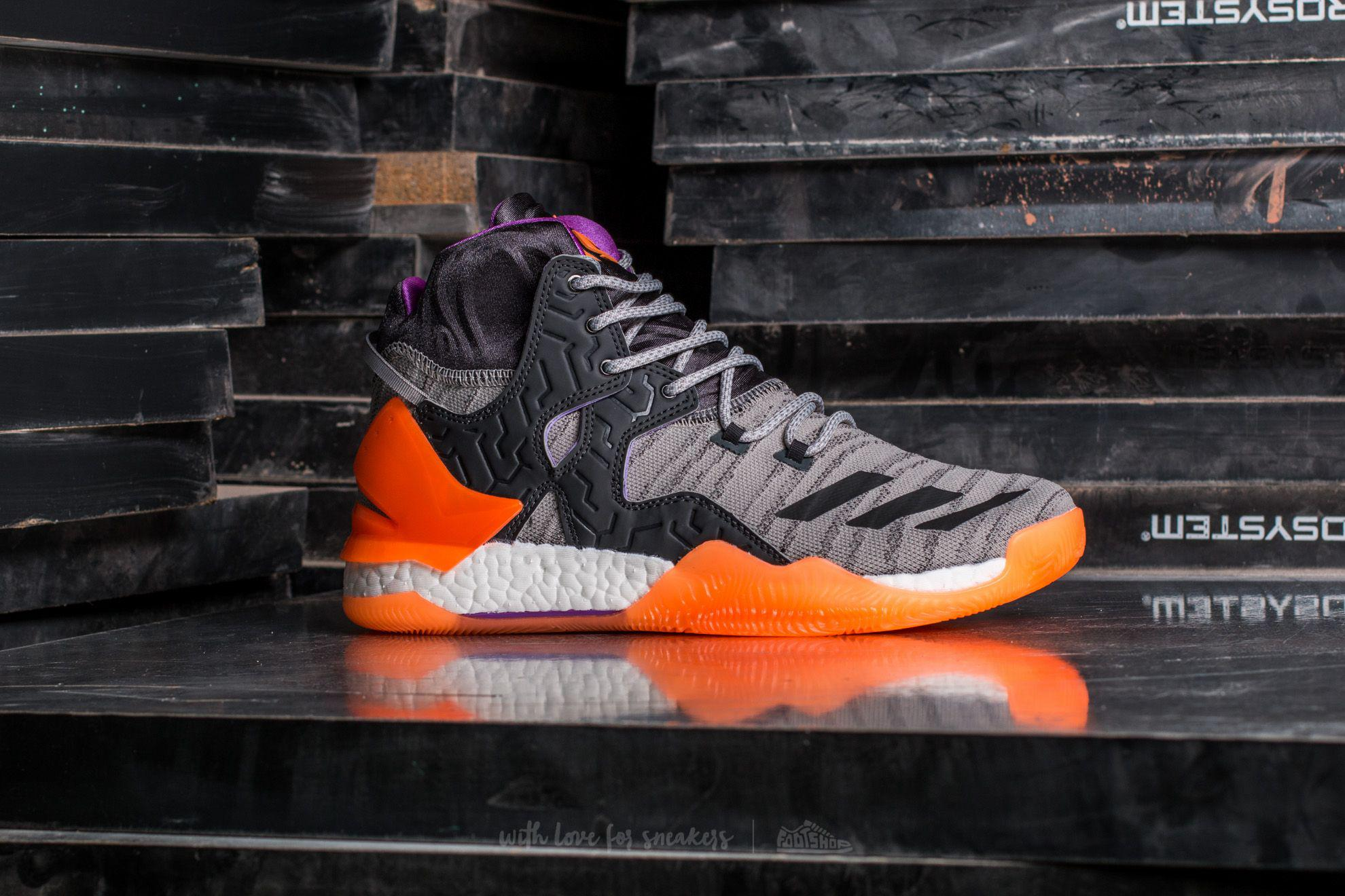 Lyst - adidas Originals Adidas D Rose 7 Primeknit Solid Grey   Solid ... 93f82f446