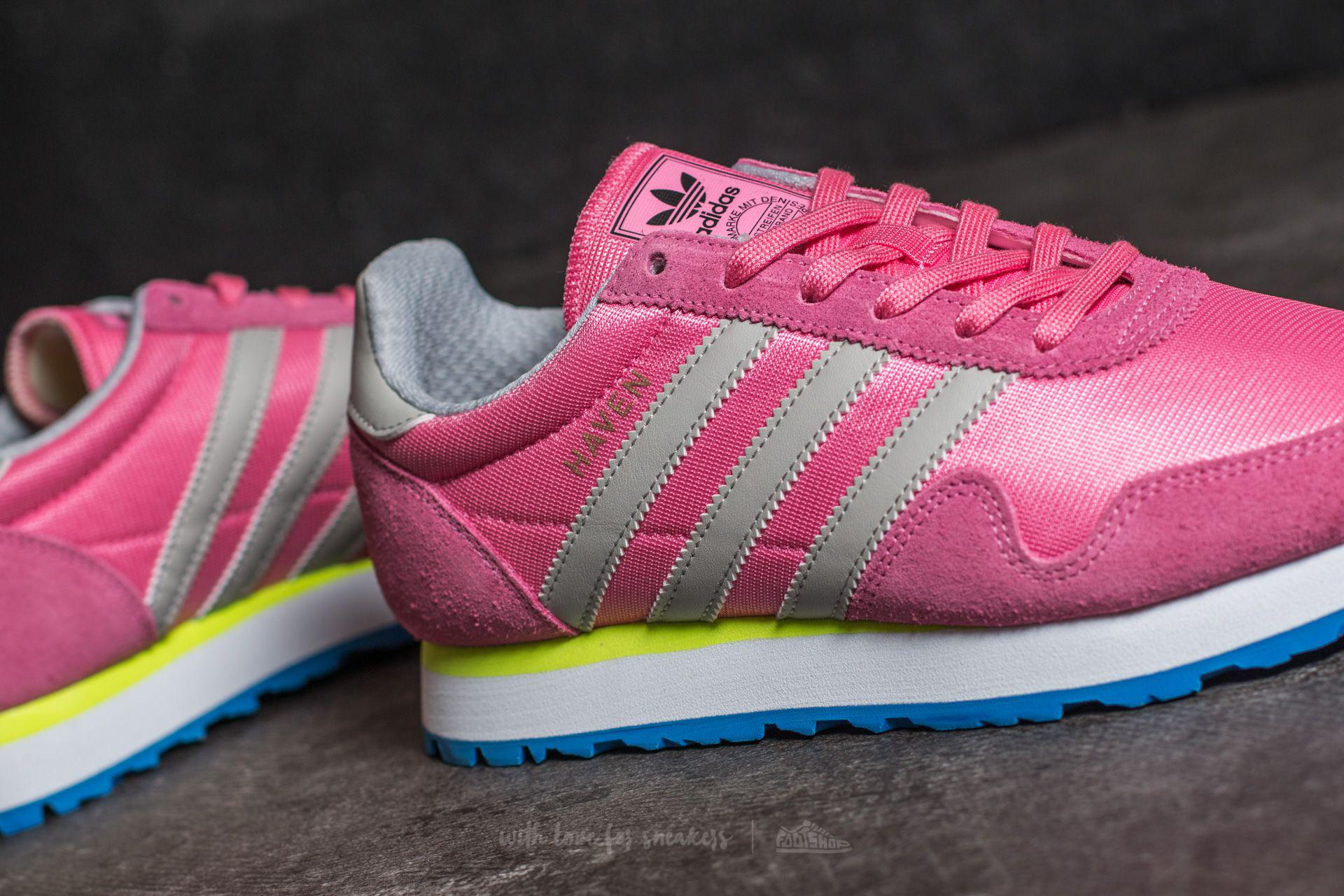 the best attitude 0d944 94dcf Lyst - adidas Originals Adidas Haven Easy Pink Clear Granite
