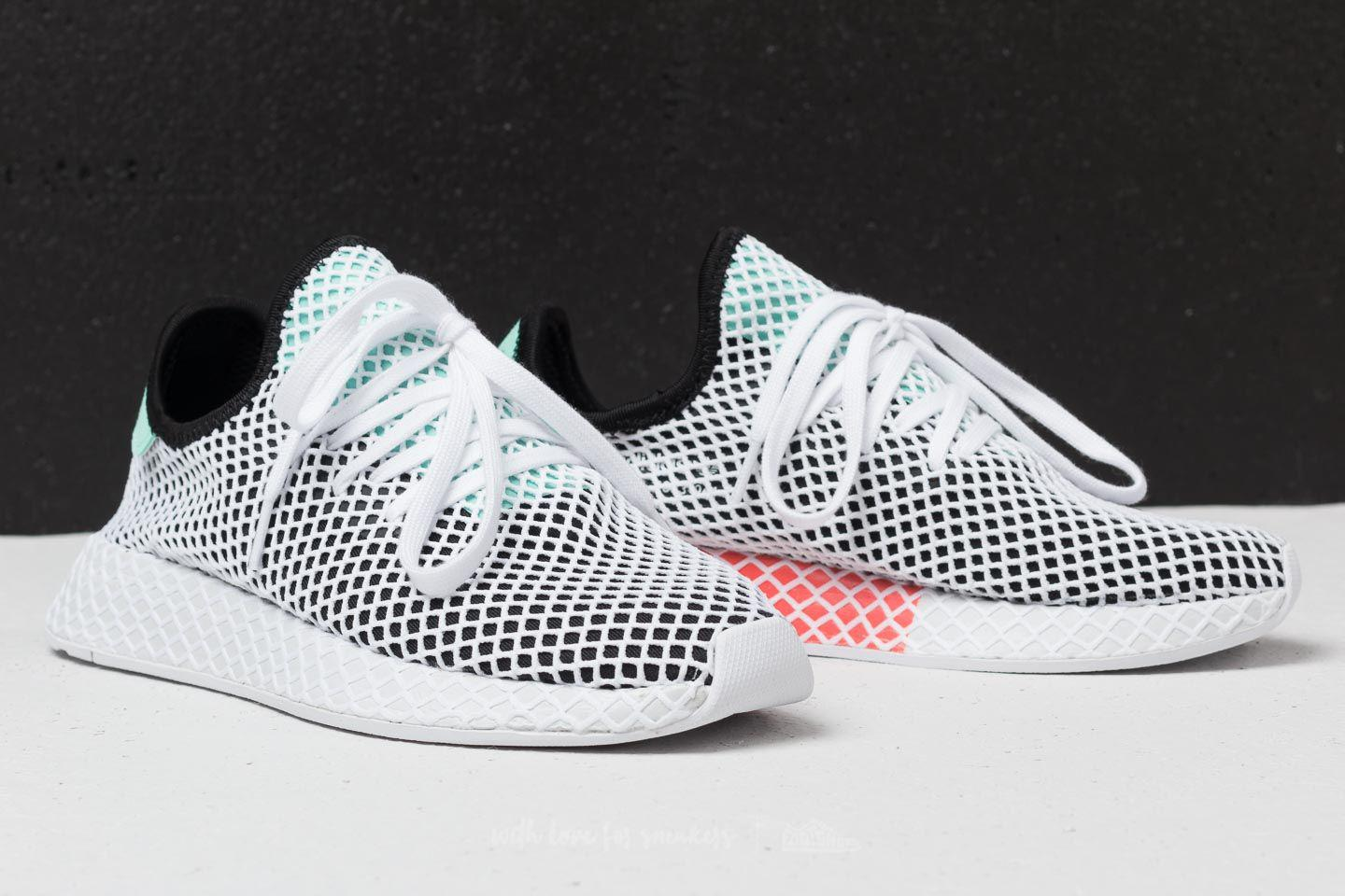 cheap for discount 708ae 2acf3 Lyst - adidas Originals Adidas Deerupt Runner Core Black Eas