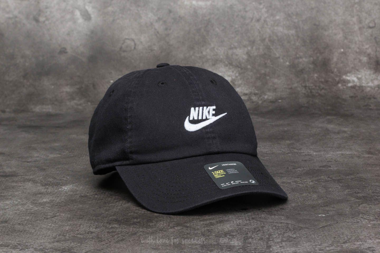 56155a553cfac Lyst - Nike Sportswear H86 Futura Washed Cap Black in Black for Men