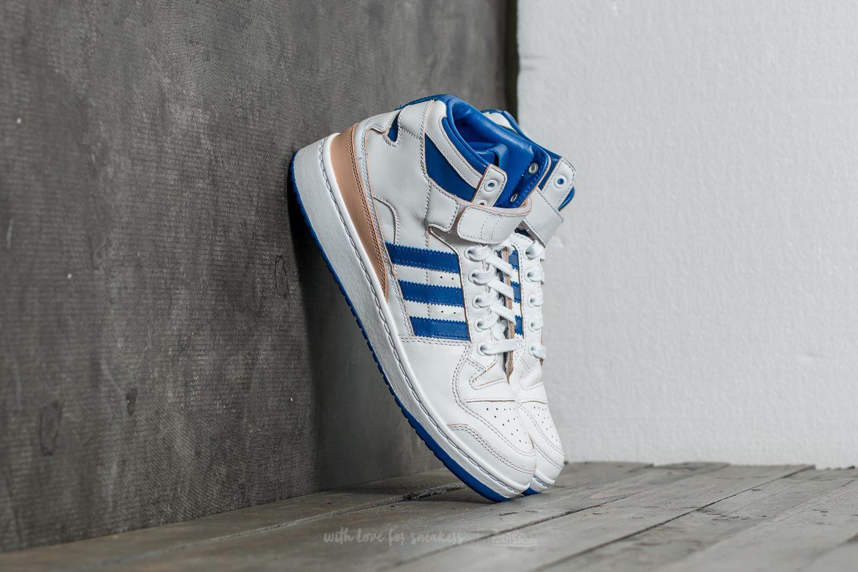 9e294ebdf73 Lyst - adidas Originals Adidas Forum Mid (wrap) Ftw White  Core ...