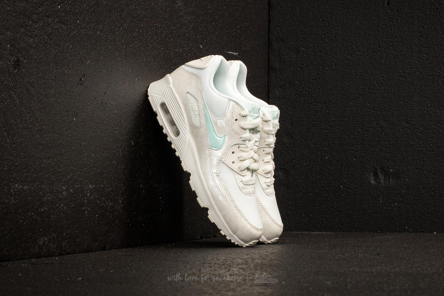 Lyst Nike Air Max 90 Mesh (gs) Sail/ Igloo in Black
