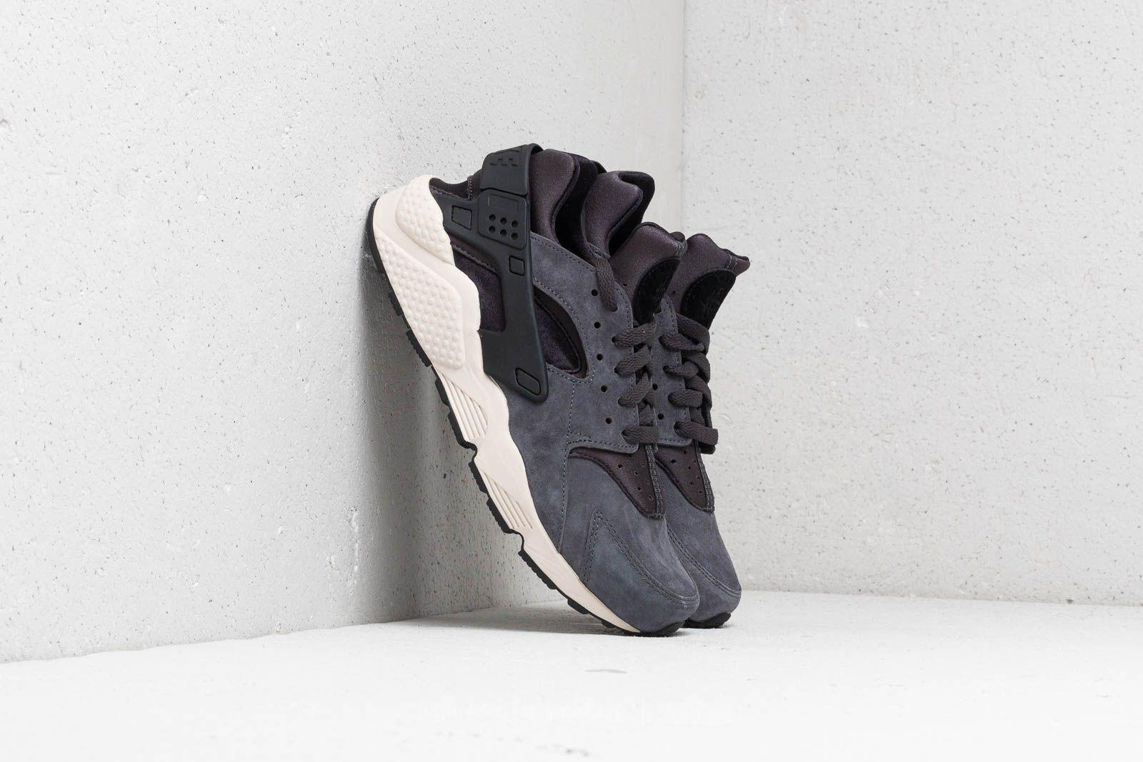 san francisco 479d7 b4898 Lyst - Nike Air Huarache Run Premium Anthracite  Black-light Bone in ...