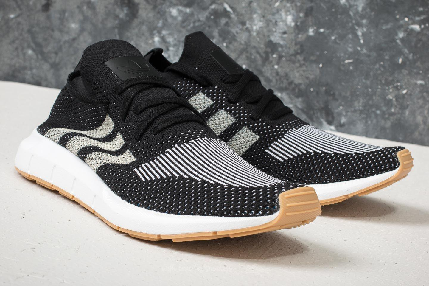 2cf23f2d0a50e Lyst - adidas Originals Adidas Swift Run Primeknit Core Black  Off ...