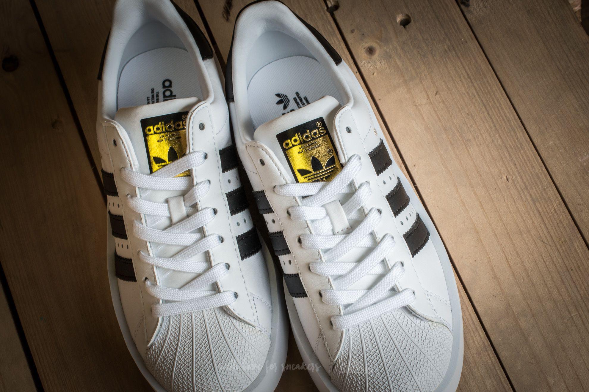 lyst adidas originali adidas superstar audace piattaforma w ftw bianco