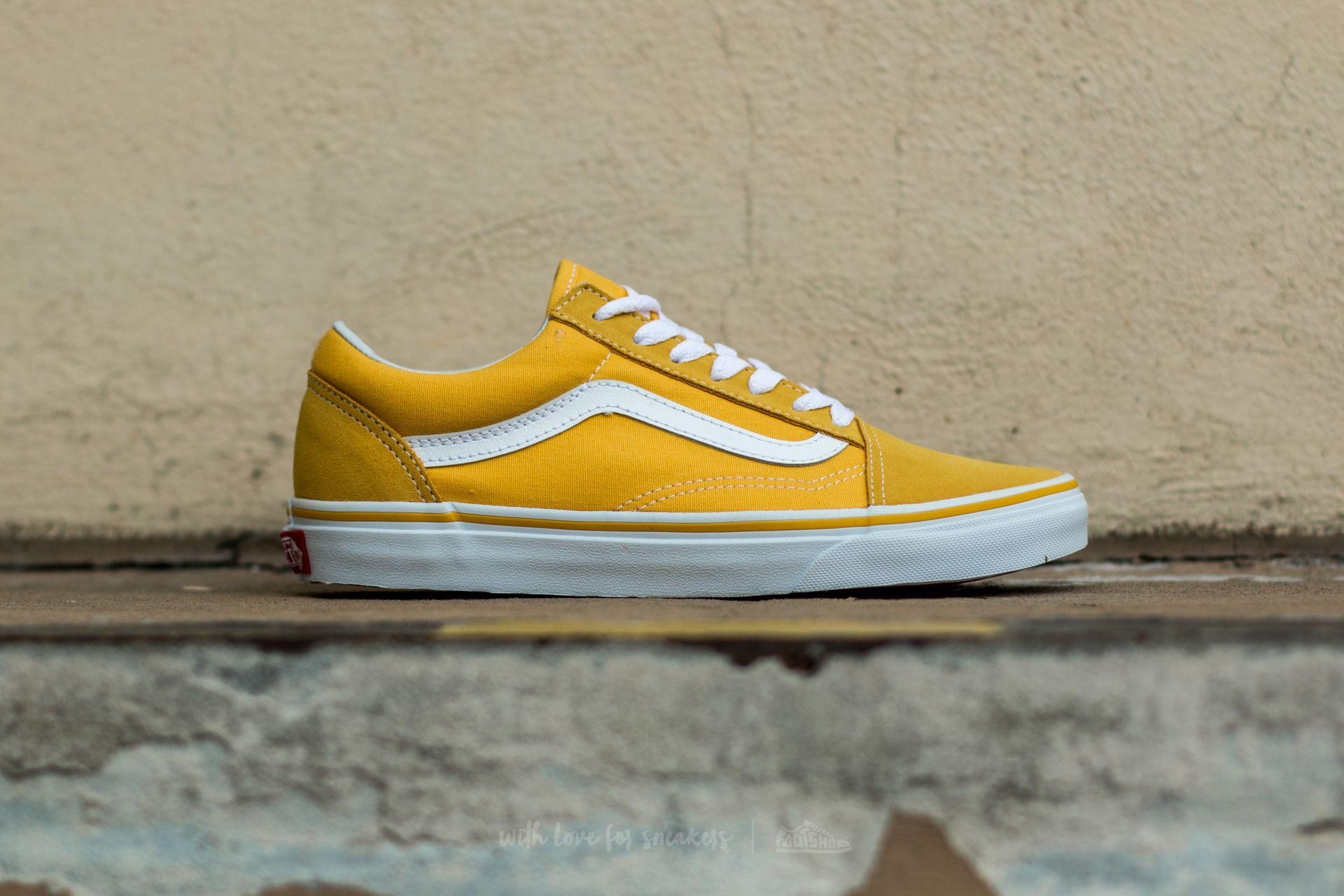 a96630077493e5 Lyst - Vans Old Skool Seude  Canvas Spectra Yellow  True White in Yellow