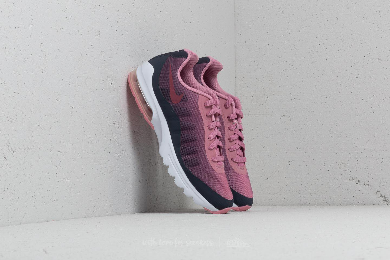 30bd53272a Nike Air Max Invigor Print (gs) Gridiron/ Vintage Wine-pink in Pink ...