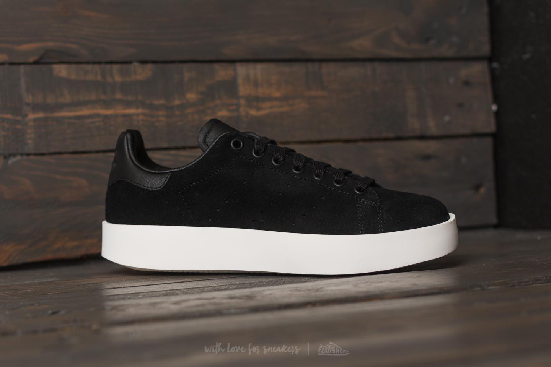 Lyst - adidas Originals Adidas Stan Smith Bold W Core Black  Core ... af5fc2b5889