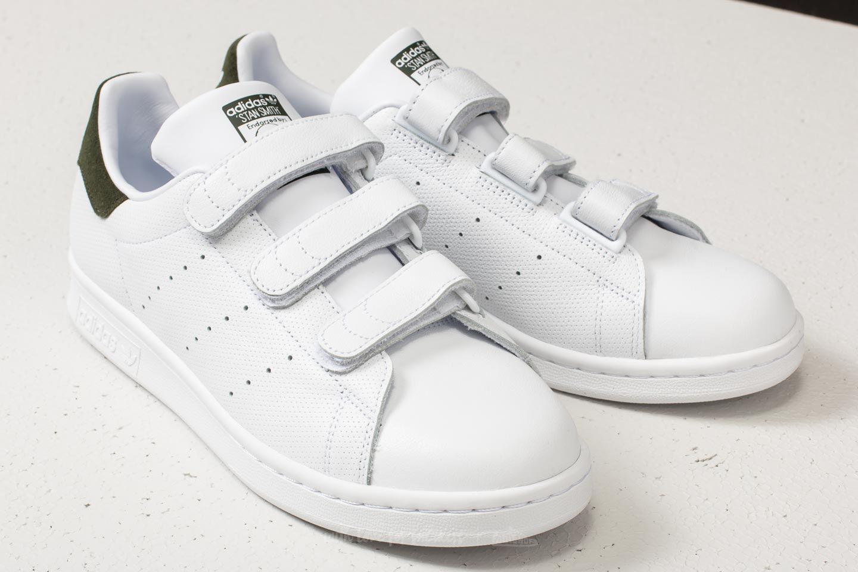 lyst adidas originali adidas stan smith di ftw bianco / ftw bianco