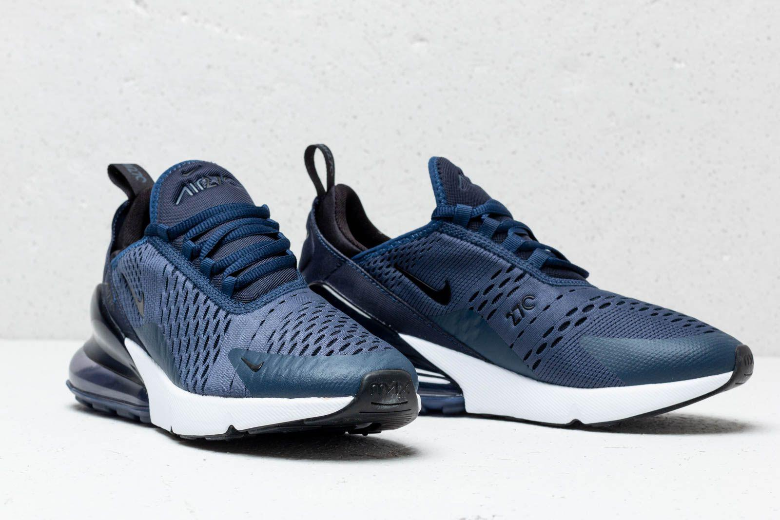 Lyst - Nike Air Max 270 (gs) Midnight Navy  Black-white in Blue 01558081f1