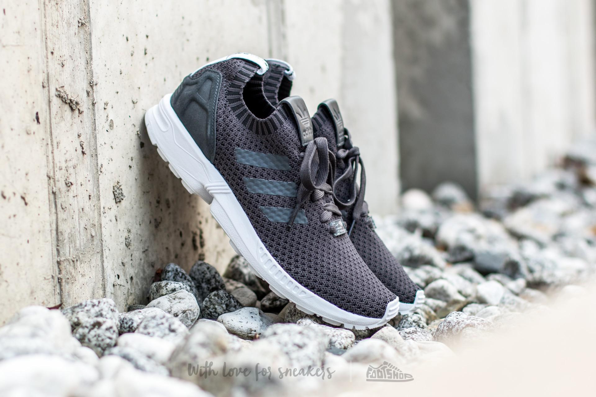 new styles 3431e eeb01 Lyst - adidas Originals Adidas Zx Flux Primeknit Dgh Solid Grey  Dgh ...