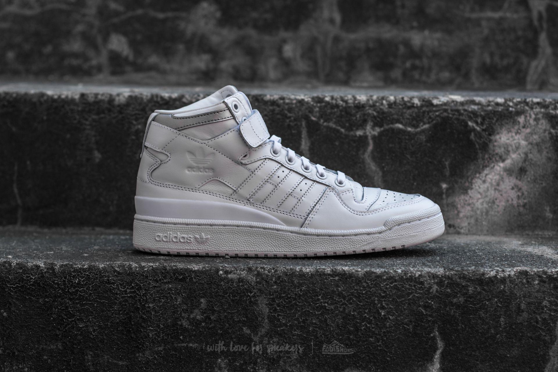 the best attitude 68776 5de24 Lyst - adidas Originals Adidas Forum Mid Refined Footwear White ...
