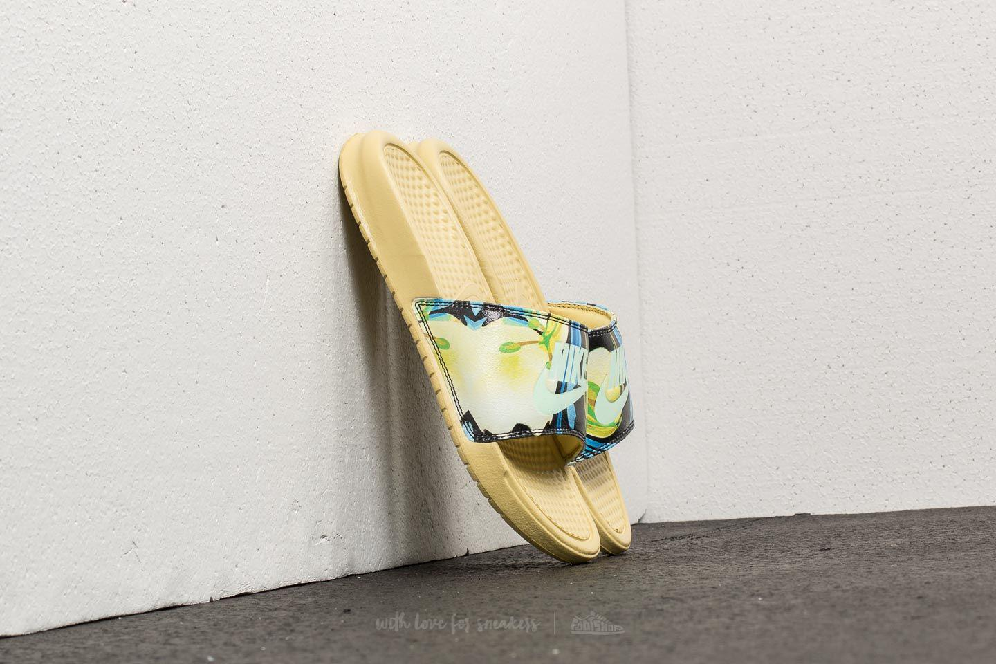 1903dcc99533 Gallery. Previously sold at  Footshop · Women s Gold Sandals Women s Nike  Benassi ...