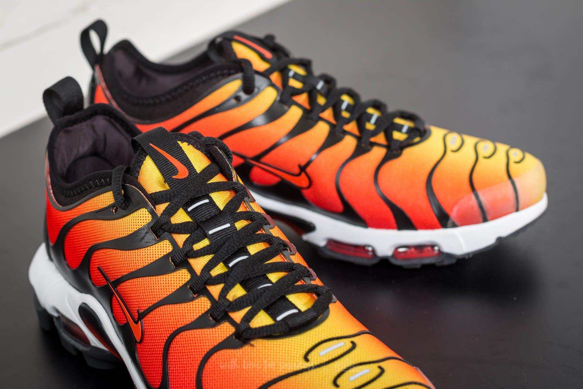 6edf514654 Nike Air Max Plus Tn Ultra Black/ Team Orange-tour Yellow for Men - Lyst
