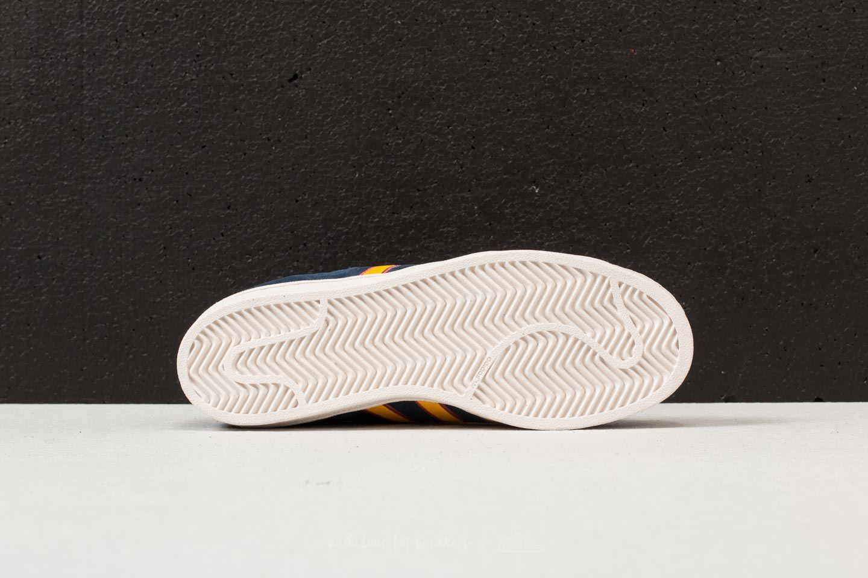 f53b6a01670 Lyst - adidas Originals Adidas Superstar Collegiate Navy  Yellow ...