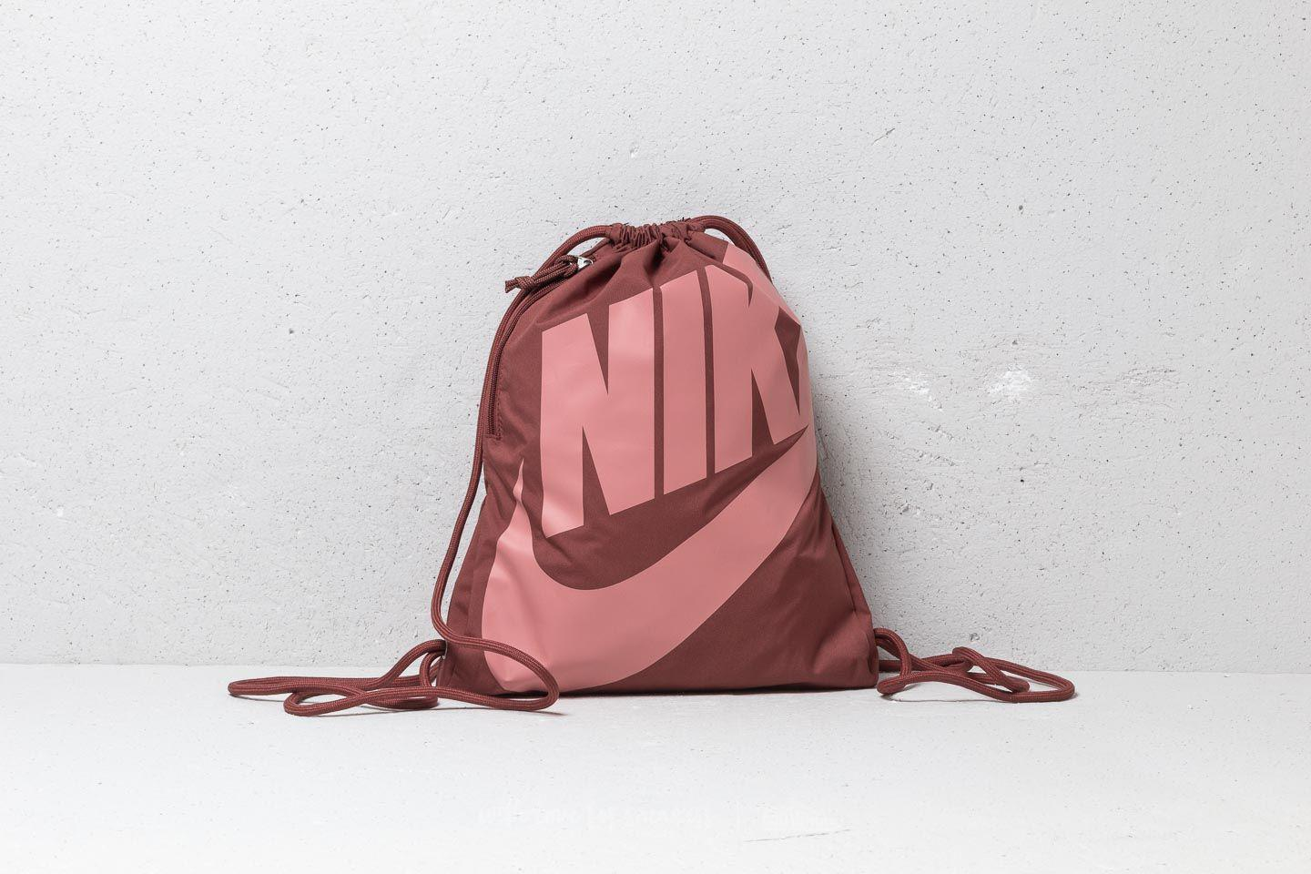 67247c29c2f34 Nike Heritage Gymsack Red Sepia rust Pink in Red - Lyst