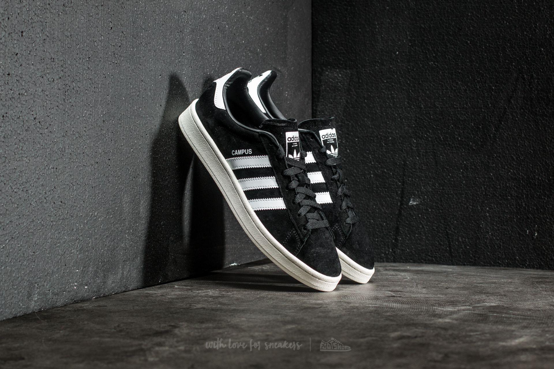 buy popular e85d3 b0637 Lyst - adidas Originals Adidas Campus Core Black Ftw White C