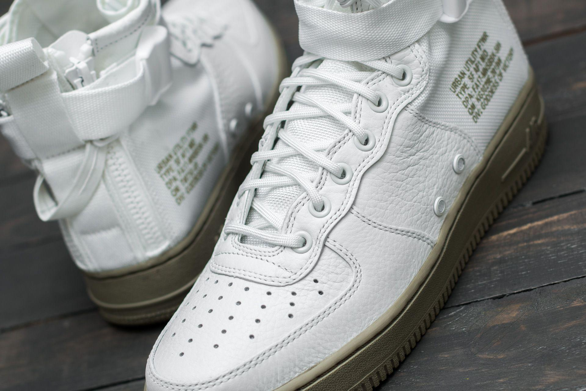 ad9948c15248 Lyst - Nike Sf Air Force 1 Mid Ivory  Ivory-neutral Olive for Men
