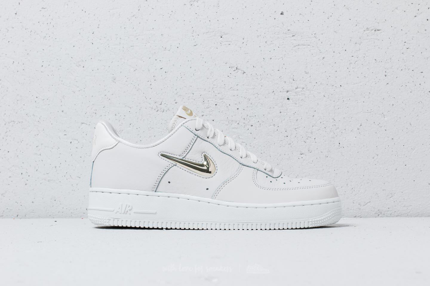 newest 1a023 740c8 Nike Wmns Air Force 1 ́07 Premium Lx Phantom  Mtlc Gold Star - Lyst