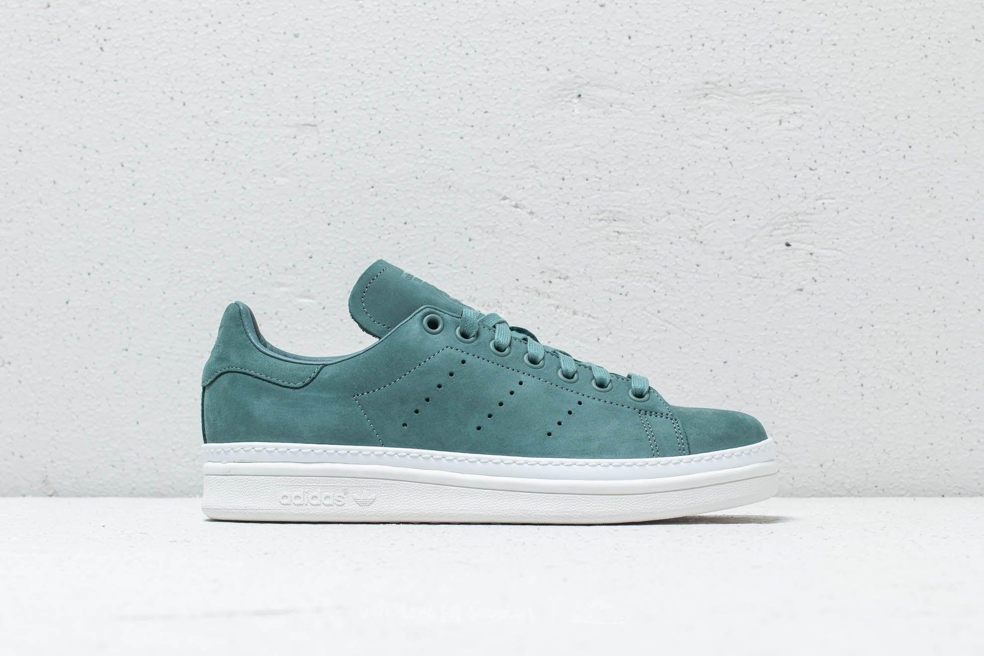 31ac55fecaff Lyst - adidas Originals Adidas Stan Smith New Bold W Raw Green  Raw ...
