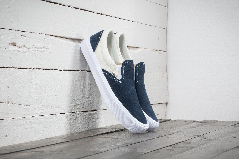 d343519e96baea Lyst - Vans Slip-on (two-tone) Dress Blue  Marshmallow in Blue for Men