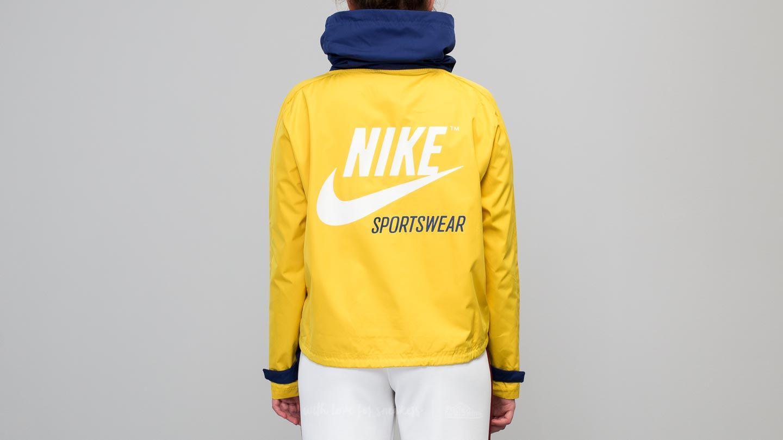 cc40acd2daa5 Lyst - Nike Sportswear Archive Pullover Jacket Blue  Yellow in Blue