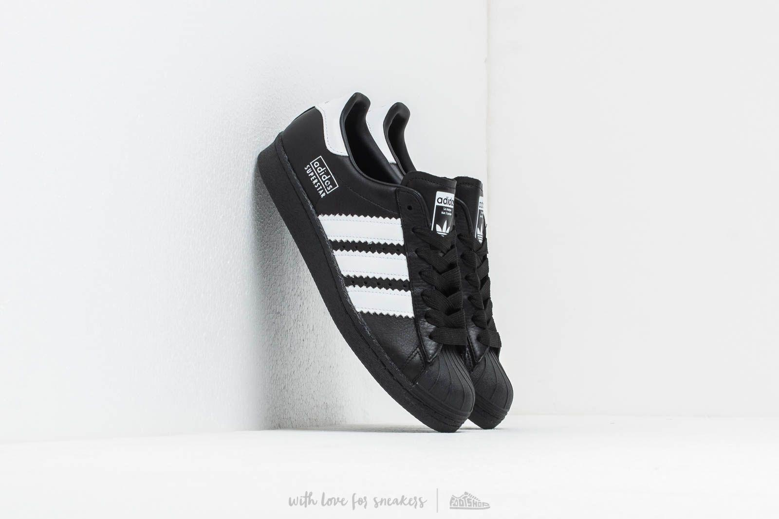 new arrival 78036 e4e30 adidas Originals. Mens Adidas Superstar 80s Core Black Ftw White ...