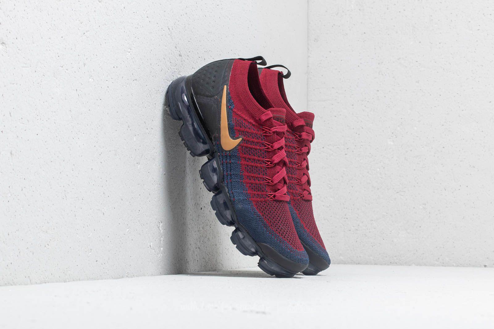 ad9b43847400 Lyst - Nike Air Vapormax Flyknit 2 Team Red  Wheat-obsidian-black ...