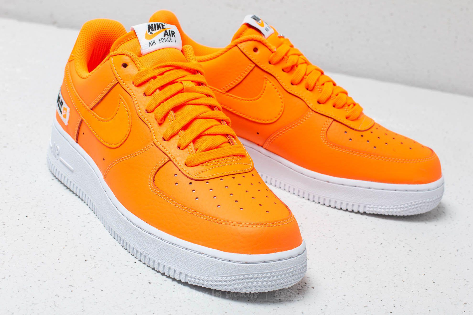 859e53d0f4 Nike Air Force 1 ́07 Lv8 Jdi Leather Total Orange/ Total Orange in ...