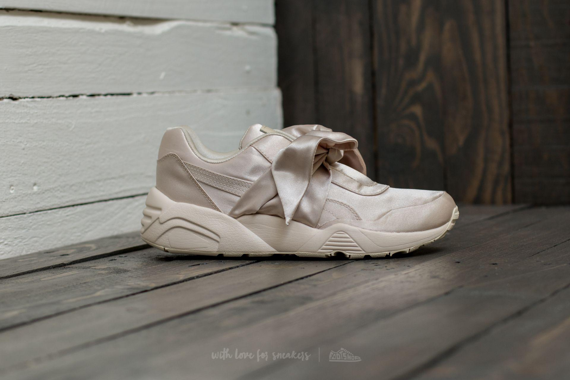 Lyst - Footshop Fenty X Rihanna Bow Sneaker Womens Pink Tint-pink ... b1d933827