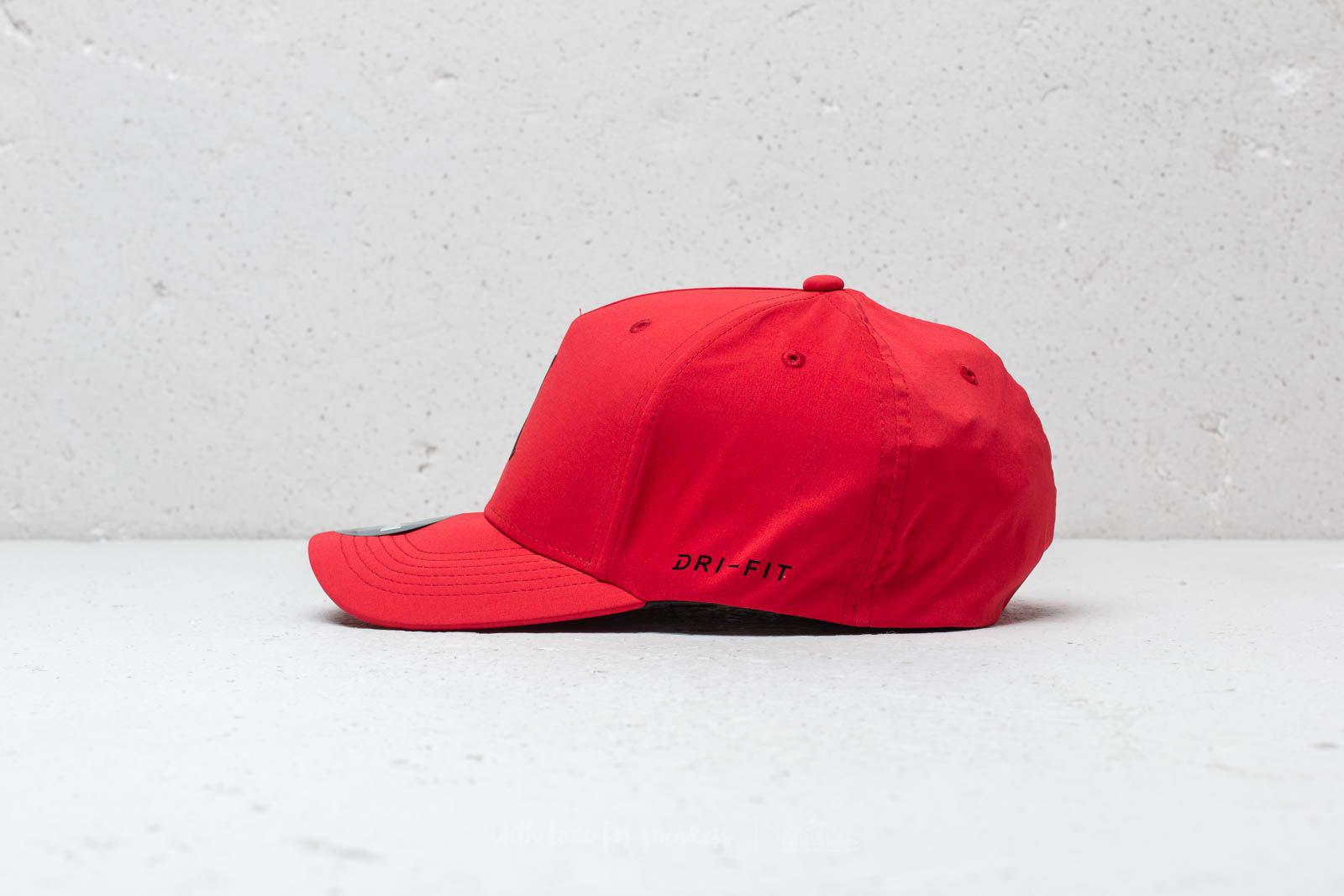 the latest 00ff8 de4cf ... ebay nike air jumpman fitted cap university red for men lyst. view  fullscreen 7e5ec faf18