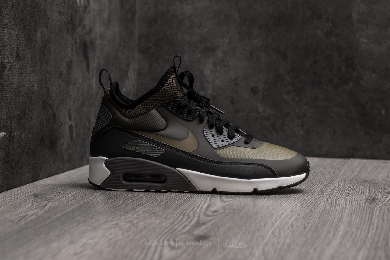 Lyst - Nike Air Max 90 Ultra Mid Winter Sequoia  Medium Olive-black ... 8b3056d59