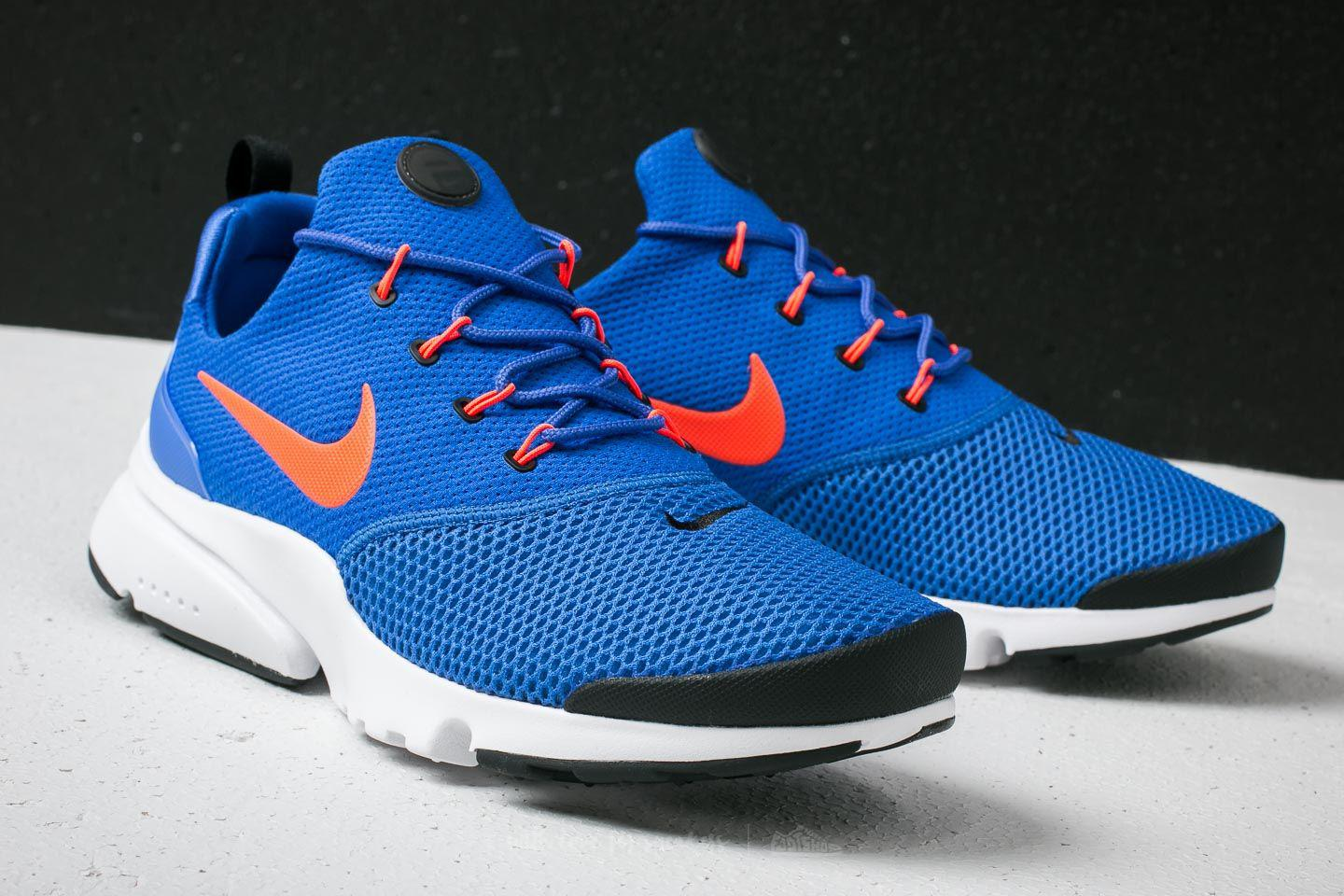 5901a2798dd6c ... pine green orange blaze release reminder 4697a 8cf7c  germany lyst nike  air presto fly racer blue total crimson black in blue e6eb9 73196