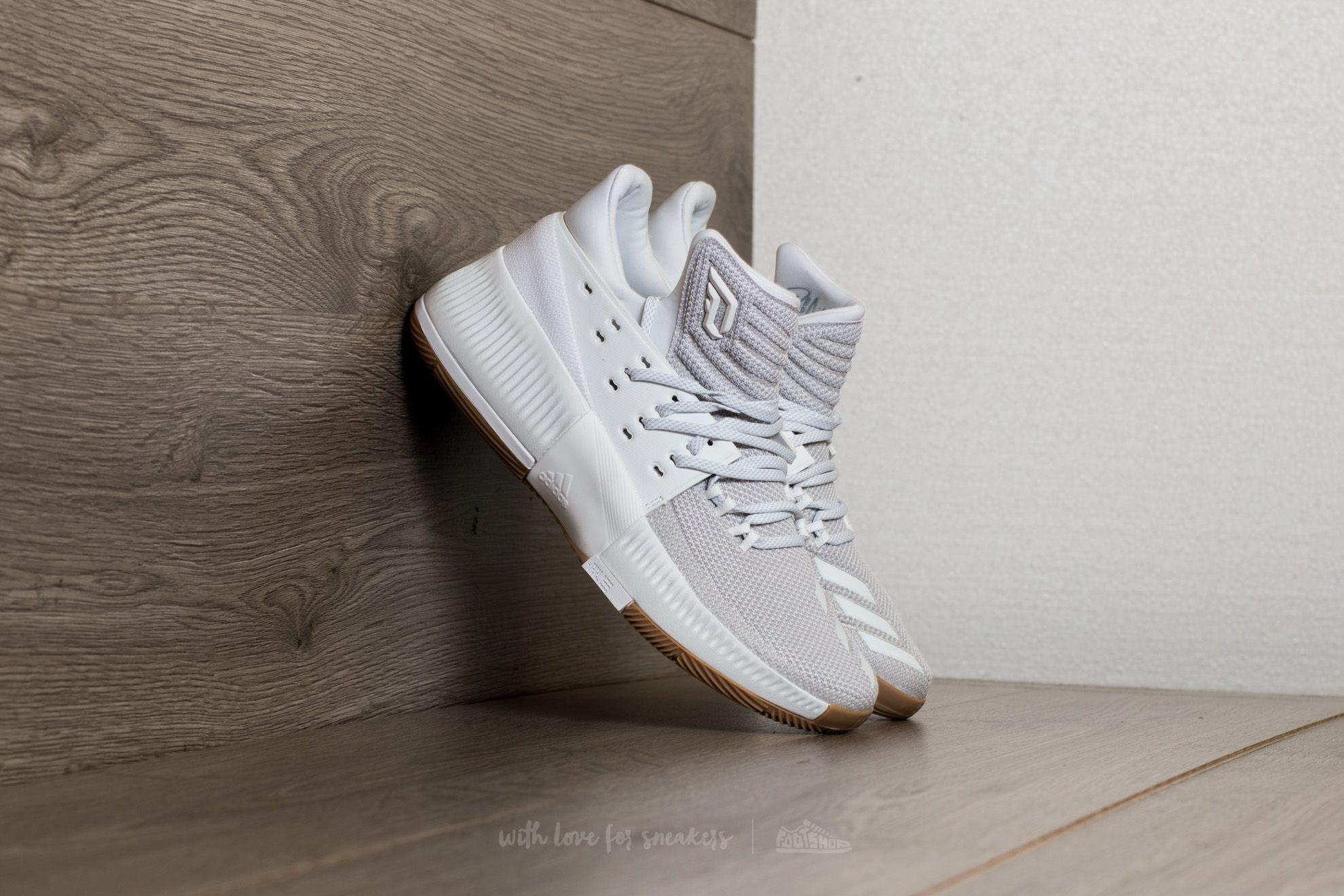 cb6230e79cc0ff Lyst - adidas Originals Adidas D Lillard 3 Ftw White  Ftw White ...