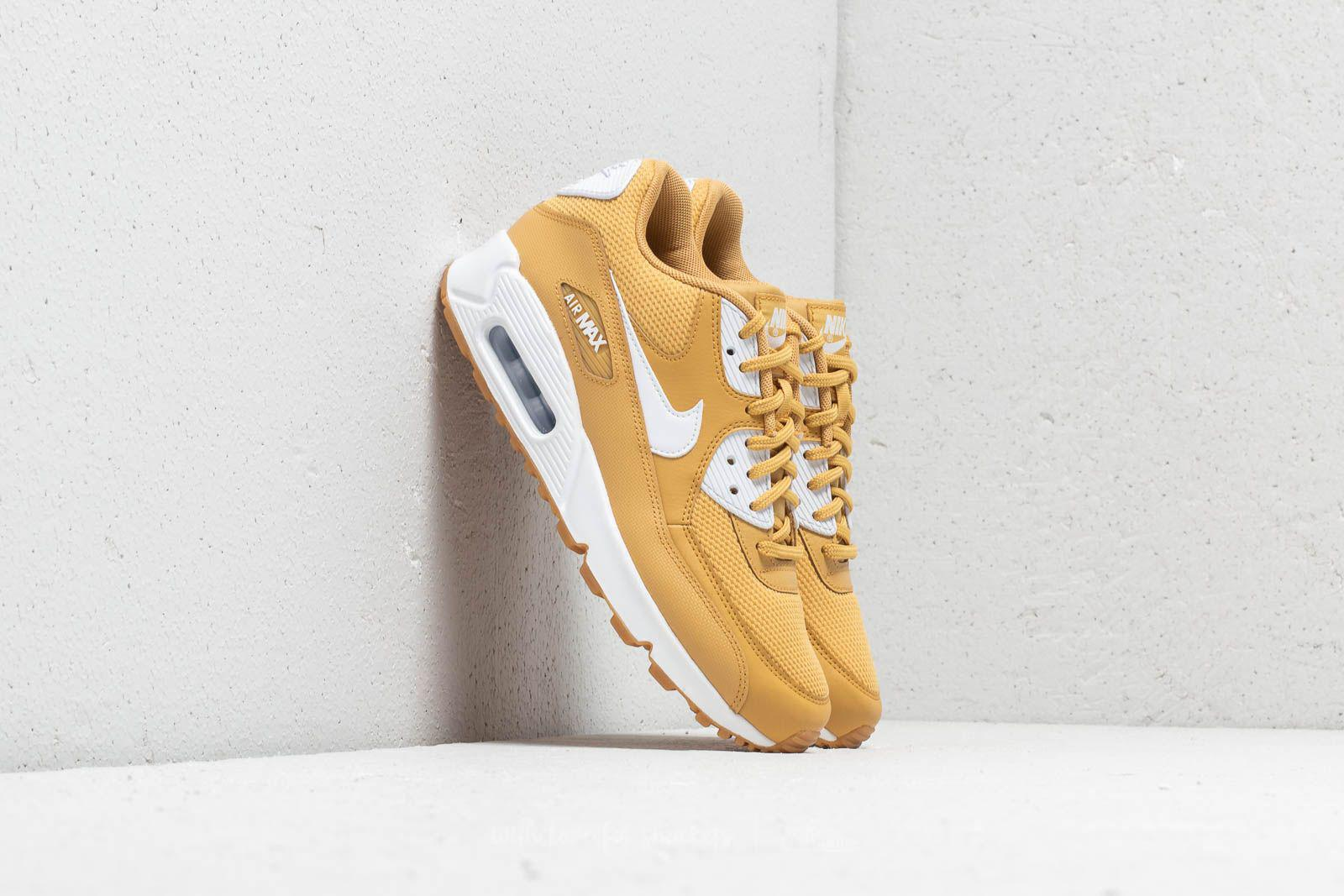 Lyst - Nike Wmns Air Max 90 Wheat Gold  White in Metallic 9215c2efc6