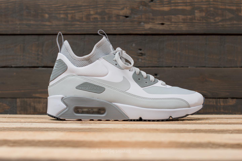 Lyst - Nike Air Max 90 Ultra Mid Winter White  Pure Platinum-wolf ... 7dd559e74