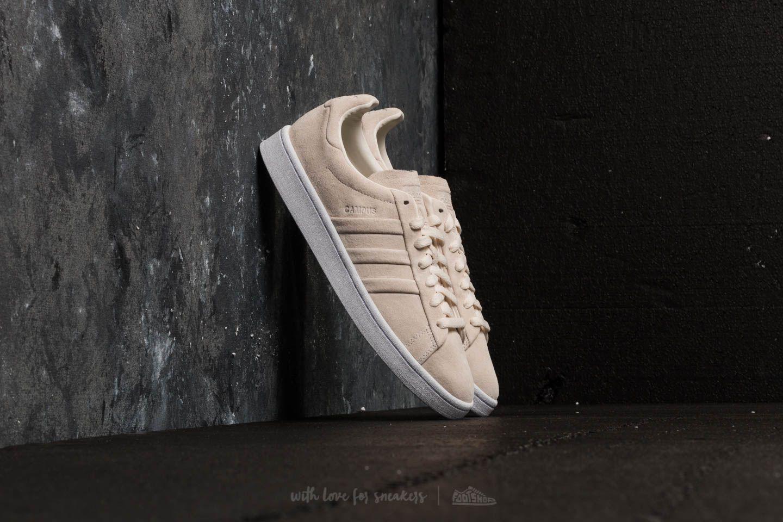 release date: 8d6e6 e904c adidas Originals. Mens Adidas Campus Stitch And Turn Chalk White Chalk  White Ftw White