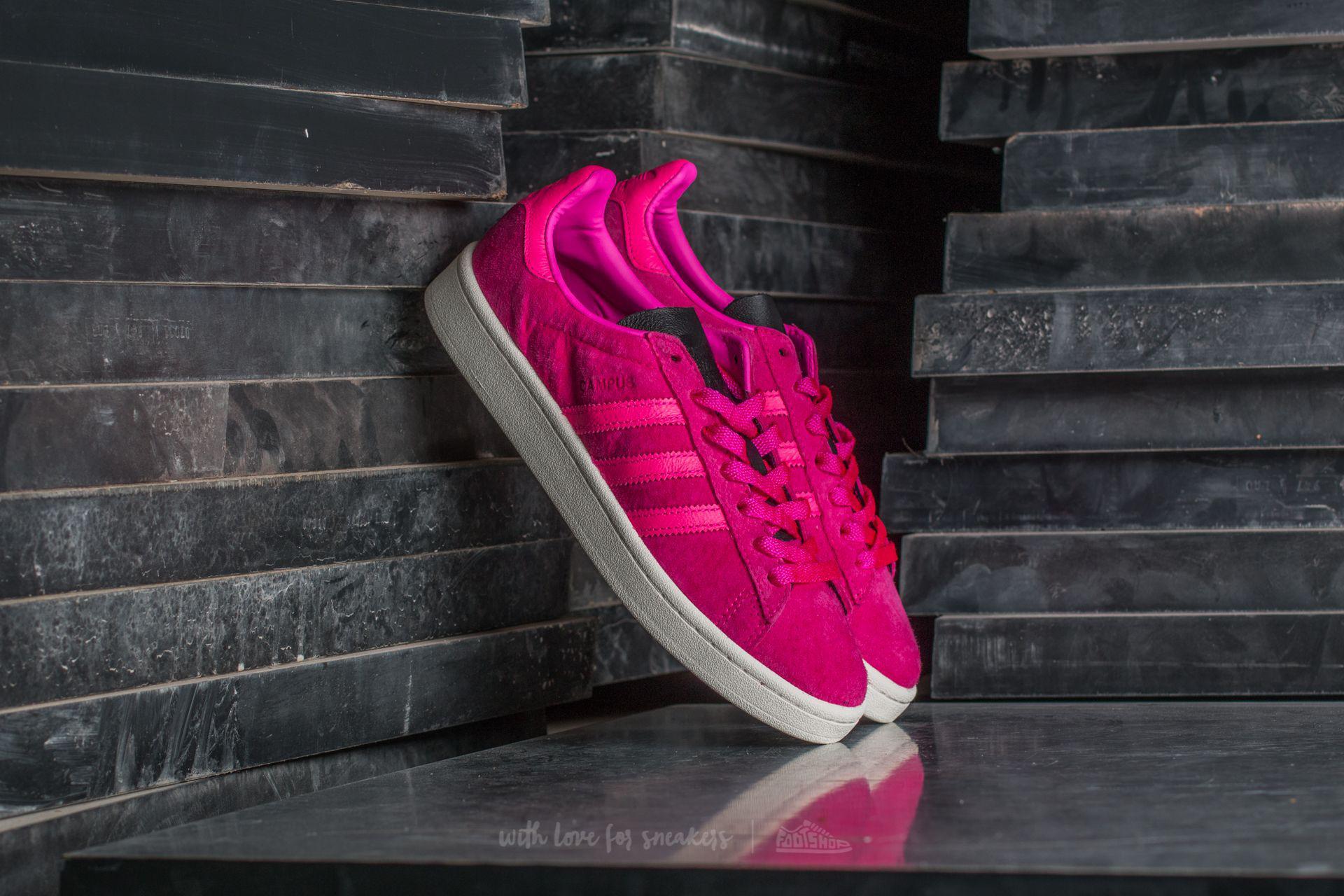 Lyst - adidas Originals Adidas Campus Shock Pink  Core Black in Pink 6291f87f4