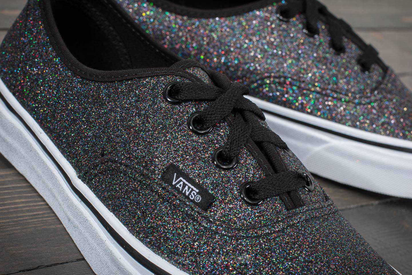 Lyst - Vans Authentic (glitter) Rainbow Black in Black for Men aa633e414