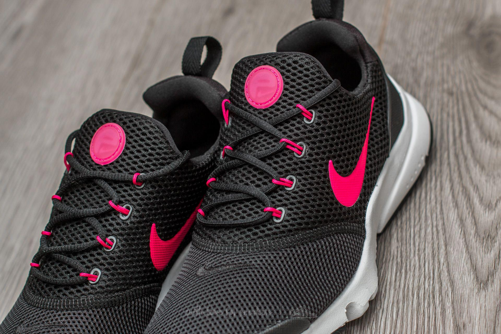 new concept fe677 82246 Lyst - Nike Presto Fly (gs) Black  Rush Pink-white