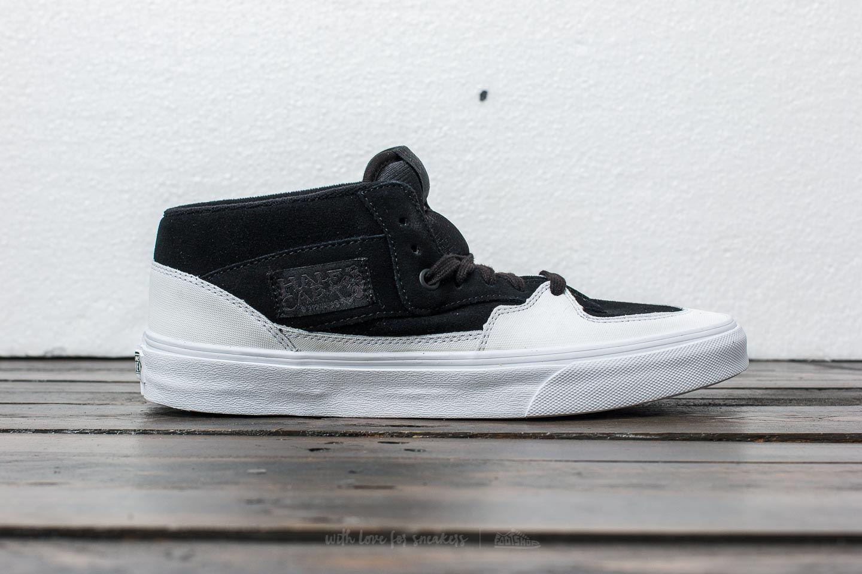 2c381a685a Lyst - Vans Half Cab (dipped) Black  True White in Black for Men