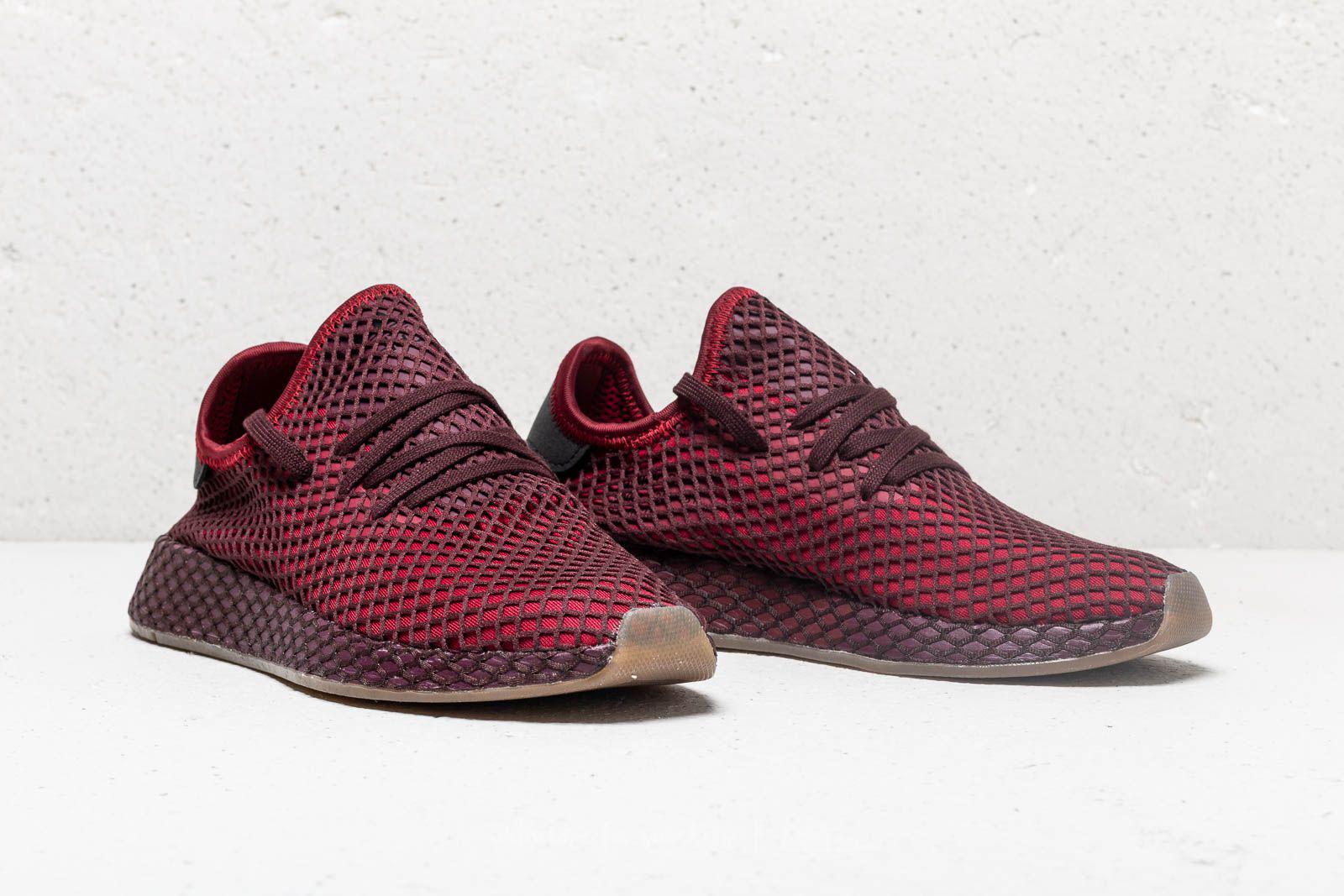 5271831520fa8 Lyst - adidas Originals Adidas Deerupt Runner Collegiate Burgundy ...